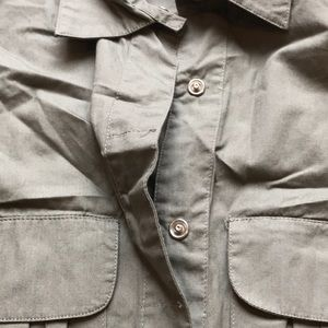 Xhilaration Tops - Xhilaration light army green button down